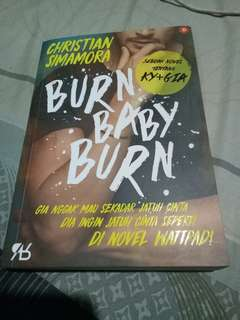 Novel Burn Baby Burn by Christian Simamora