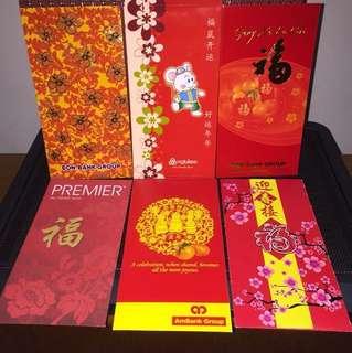 (6pcs) Ang Pow Packets