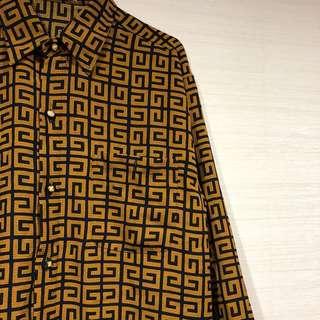 古著 復古 類紀梵希 紗襯衫