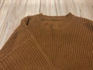 Knitted Khaki Sweater