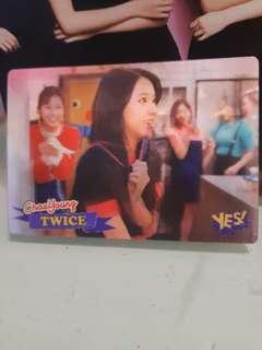 Twice yes card