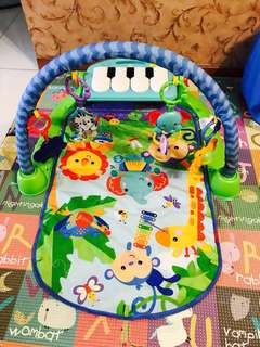 Fisher price 3 in 1 kick and play piano activity gym