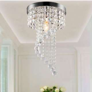 BNIB Crystal LED Chandelier