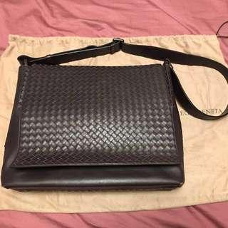 Bottega Veneta BV Men's Leather Messenger Bag