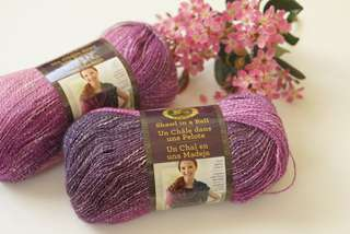 Lion Brand Shawl in a Ball (Color: Lotus Blossom)