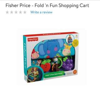 Fisher Price Fold n Fun shopping cart cover