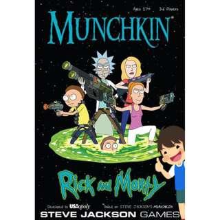 Munchkin : Rick And Morty