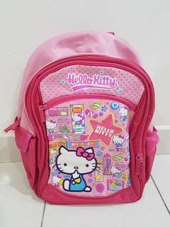 School Bag- Hello Kitty