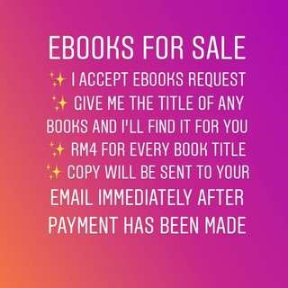 Ebooks Request!