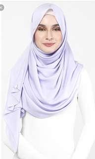 MSS dUCkscarf shawl in Sweet Lilac
