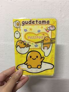 Gudetama Passport Cover