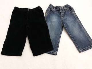 Baby boy pants bundle