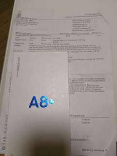 Samsung A8+ 64G 3 台機( 4月22日出機)沒開盒