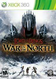 Xbox 360 Lord of The Ring War In The North