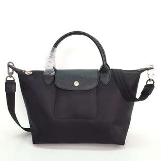 Longchamp Le Pliage Neo Small Black