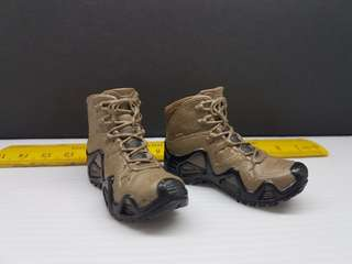 1/6 Scale MT010 Seal Team 6 Solid Combat Boot (no pegs)