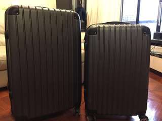 Special $380 Luggage sets  (no brand) new and second hand 30吋+28吋