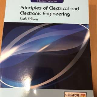 Principle of Electrical Electronic Engineering text book