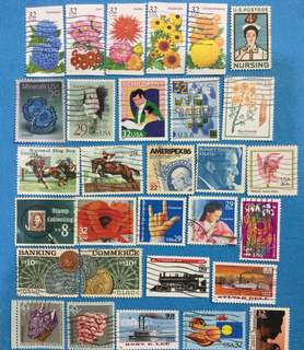 USA 30 Different Commemoratives Used Selection A