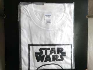 全新 STAR WARS 星球大戰 白兵 T恤  ( L碼 )