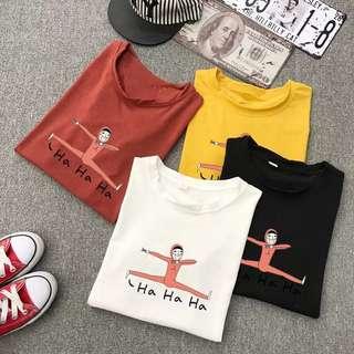 純棉百搭T恤
