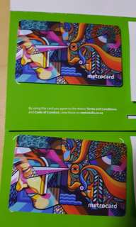 metro card for public transportation in Christchurch, New Zealand.