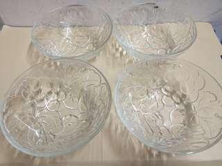 玻璃碗,全新. 未用過