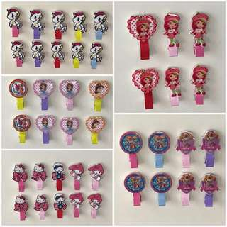 Hair Clips in Various Design