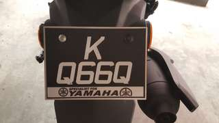 Classic Exclusive JPJ Number Plate *KQ66Q* for Sale