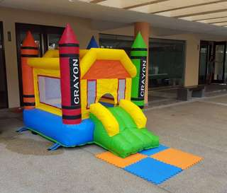 Bouncy castle for birthday party