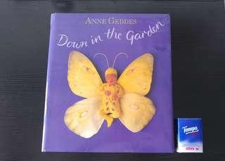 Anne Geddes Down in the Garden photo book hard cover 硬皮 嬰兒 寫真集 baby photo book