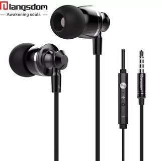 Langsdom M300 In-ear Earphone for Phone Metal Stereo