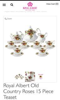 Royal Albert Tea Set 15