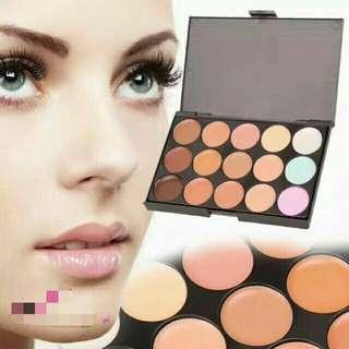 15 Color Concealer Disc Cover The Black eye Acne Freckles