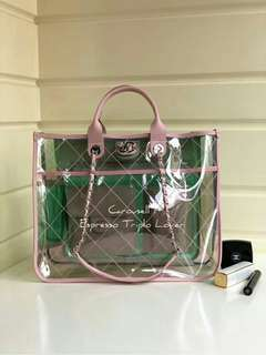Chanel PVC Large Shopping Bag (Spring-Summer Collection 2018)