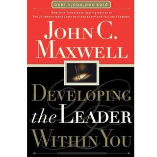 Ebook- Developing the Leader Within You