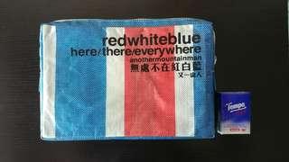 無處不在紅白藍 red white blue here/there/everywhere 又一山人 香港地出版書