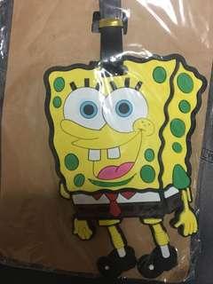 Grab Now ‼️ Spongebob Luggage Tag