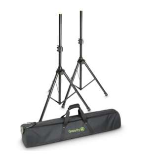 Gravity Stands: Transport Bag for 2 Speaker Stands: GBGSS2B
