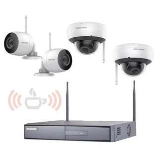 Hikvision Wifi Kit 4CH 960P 4MM Lens