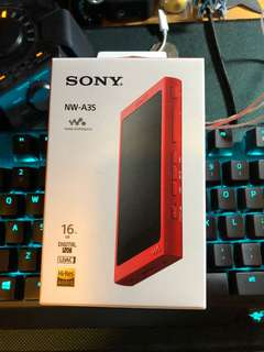 Sony NW-A35 Dap player(16GB)
