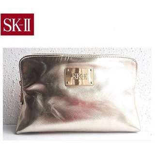 skii pouch gold