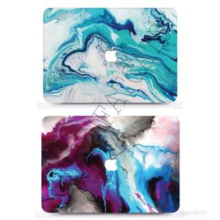 *Exclusive* Marble Macbook Cover