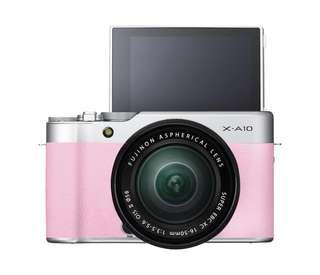 Fujifilm XA-10 Pink