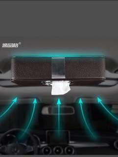 磁吸車用面紙盒