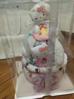 尿片蛋糕Kitty主題