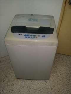 Used LG washer 6.0kg washing machine mesin basuh fully auto