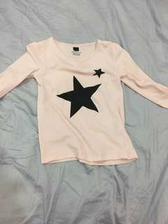 Star Long t-shirt