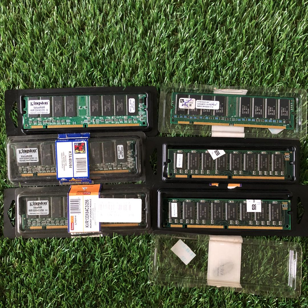 8 x pc133 sdram 128mb 256mb