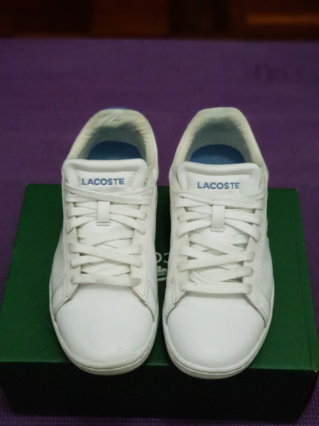 3033b751e358d 💯 Authentic Lacoste Sneaker (Not include postage)
